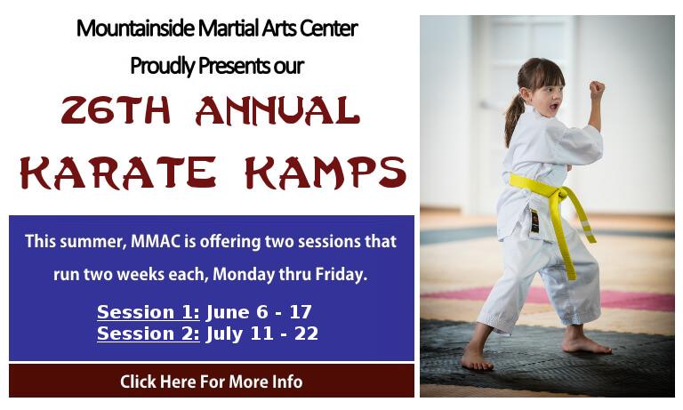 Karate Kamp by Mountainside Martial Arts Center