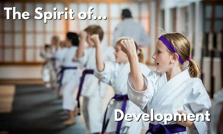 The Spirit of Development - Karate for Kids
