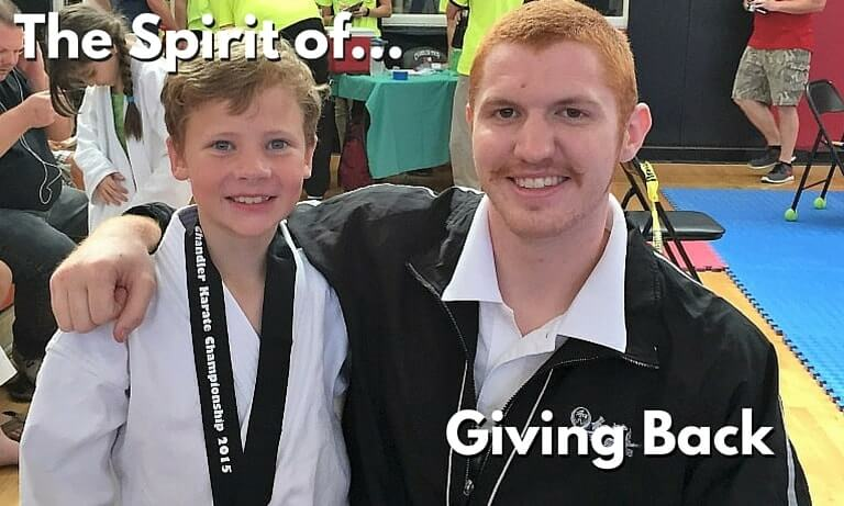 The Spirit of Giving Back - Martial Arts School Ahwatukee