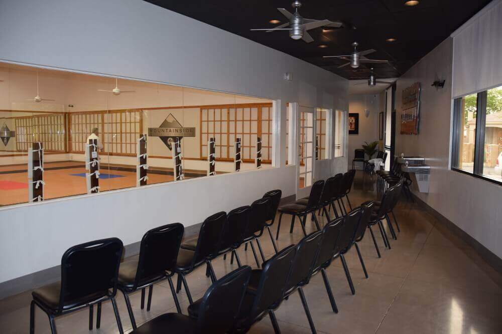 Mountainside Martial Arts Center - Observation Room