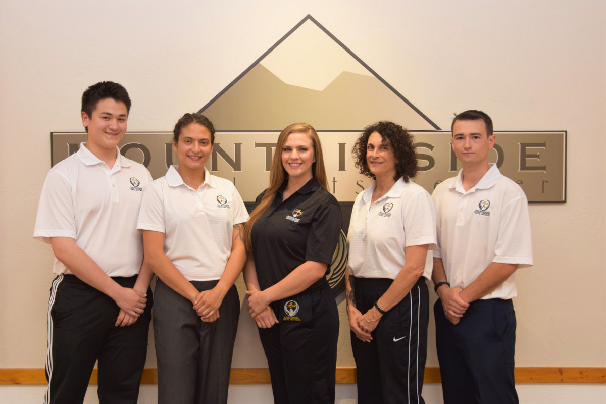 Mountainside Martial Arts Competition Team Coaching Staff