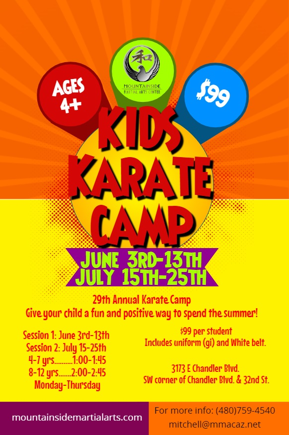 Karate Camp 2019 - Mountainside Martial Arts